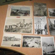 Cartes Postales: 9 FOTOS Y POSTALES DE LUGAR DESCONOCIDO.. Lote 237867565