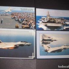 Postales: 4 POSTALES DE AVIONES ( LEER DESCRIPCIÓN, PAGO, ENVÍO). Lote 238768160