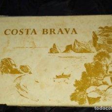 Postales: LIBRILLO ACORDEÓN COSTA BRAVA PUIG FERRÁN TARJETAS POSTALES ANTIGUAS. Lote 240127385