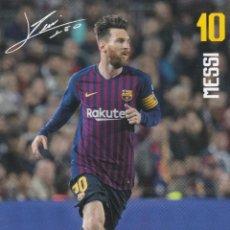Cartoline: POSTAL DEL F.C.BARCELONA MESSI. Lote 240265710