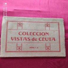 Postales: ANTIGUAS POSTALES COLECCIÓN VISTAS DE CEUTA. Lote 240358680