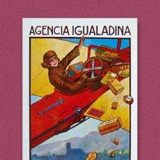 Postales: POSTAL ''AGENCIA IGUALADINA''. Lote 240502395