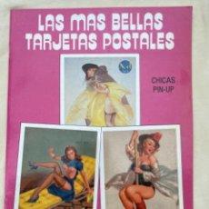 Postales: LAS MÁS BELLAS TARJETAS POSTALES COLECCIÓN NÚMERO 28 CHICAS PIN UP. Lote 240880380