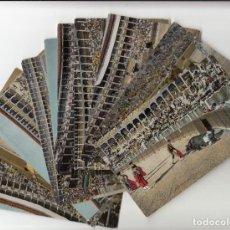 Postales: TAUROMAQUIA - COLECCIÓN ANTIGUA DE 12 ESCENAS DE CORRIDA DE TOROS. Lote 241184440