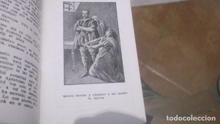 Postales: Librito (56pgn) Catecismo en Estampas Mandamientos de la Iglesia y Oración por el Dr.daniel llorente - Foto 2 - 241391105