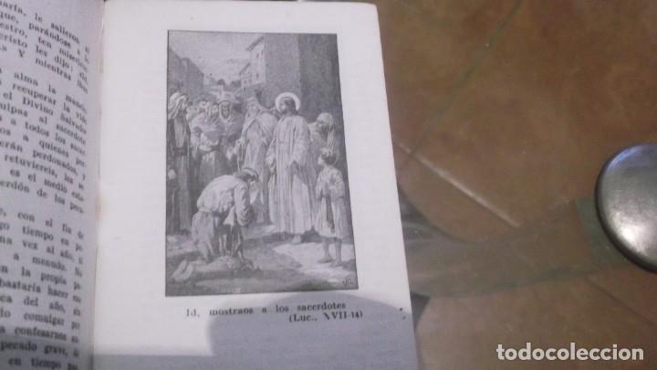 Postales: Librito (56pgn) Catecismo en Estampas Mandamientos de la Iglesia y Oración por el Dr.daniel llorente - Foto 3 - 241391105