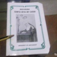 Postales: LIBRITO(23 PGN)NOVENA SANTA RITA DE CASIA (ABOGADA DE IMPOSIBLES)LLORENS -VALENCIA AÑO 1994. Lote 241404830
