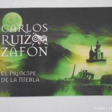 Cartoline: EL PRINCIPE DE LA NIEBLA. CARLOS RUIZ ZAFON. POSTAL.. Lote 242270800