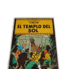 Postales: POSTAL LAS AVENTURAS DE TINTÍN : EL TEMPLO DEL SOL , JUVENTUD 1983. DIBUJO DE HERGÉ. 15X10.5CM.. Lote 245195065