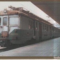 Postales: POSTAL 010884: UNIDAD ELECTRICA 436-053-3, EL PORTILLO,ZARAGOZA 1988. Lote 245521430