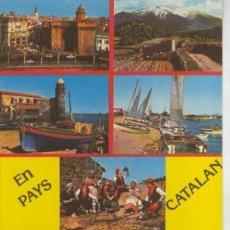 Postales: POSTAL 011270: LE PAYS CATALAN: PERPIGNAN,COLLIOURE,EINE,LE CANIGOU,ETC. Lote 245521440