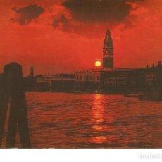 Postales: POSTAL 023052 : ST. MARK BASIN - SUNSET - VENEZIA. Lote 245522150