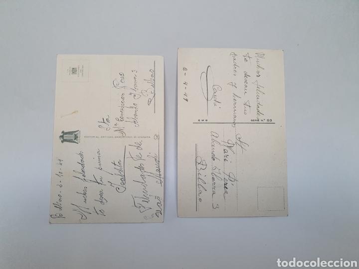 Postales: 2 POSTALES HUMORISTICAS. AÑOS 40, 50. ILUSTRADOR BOMBON. - Foto 2 - 245585160