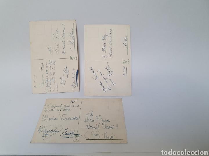 Postales: 3 POSTALES AÑOS 40. J.B.R. ILUSTRADORA M°ROSA LLONGUERES. - Foto 2 - 245588020