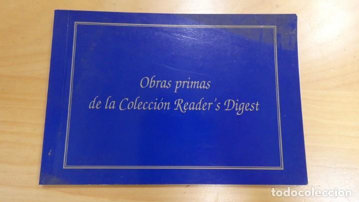 LIBRITO DE POSTALES OBRAS PRIMAS DE LA COLECCIÓN READER'S DIGEST . 10 POSTALES MUY BONITAS (Postales - Varios)