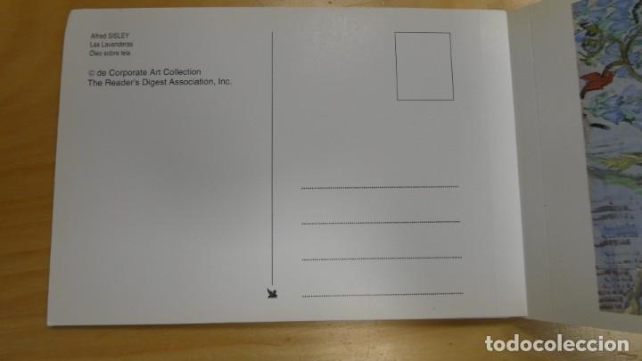 Postales: LIBRITO DE POSTALES OBRAS PRIMAS DE LA COLECCIÓN READERS DIGEST . 10 POSTALES MUY BONITAS - Foto 3 - 245602595