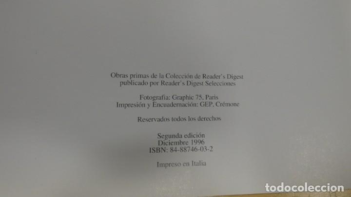 Postales: LIBRITO DE POSTALES OBRAS PRIMAS DE LA COLECCIÓN READERS DIGEST . 10 POSTALES MUY BONITAS - Foto 4 - 245602595
