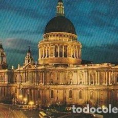 Postales: POSTAL B00444: ST. PAUL T CATHEDRAL LONDON. Lote 245714450