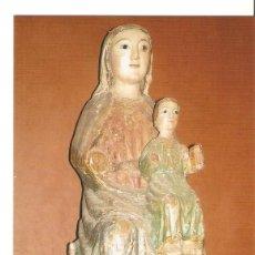 Postales: POSTAL 029913 : LA VIRGEN CON EL NIÑO (TALLA DEL S. XIII) MUSEO DE LA S. I. CATEDRAL. AVILA. Lote 246572400