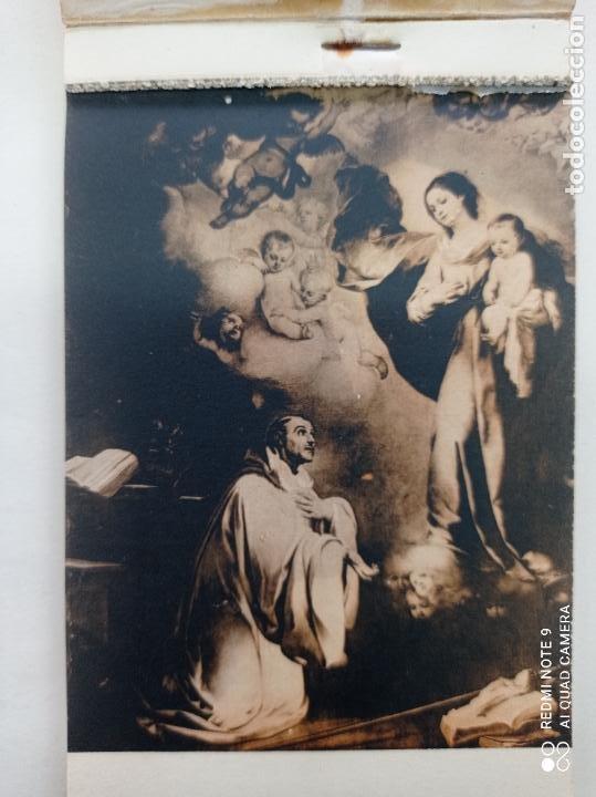 Postales: BLOCK DE 11 POSTALES ANTIGUAS DE MURILLO-MUSEO DEL PRADO. FOTOTIPIA HAUSER Y MENET. 9 x 14 CMS - Foto 2 - 252281200
