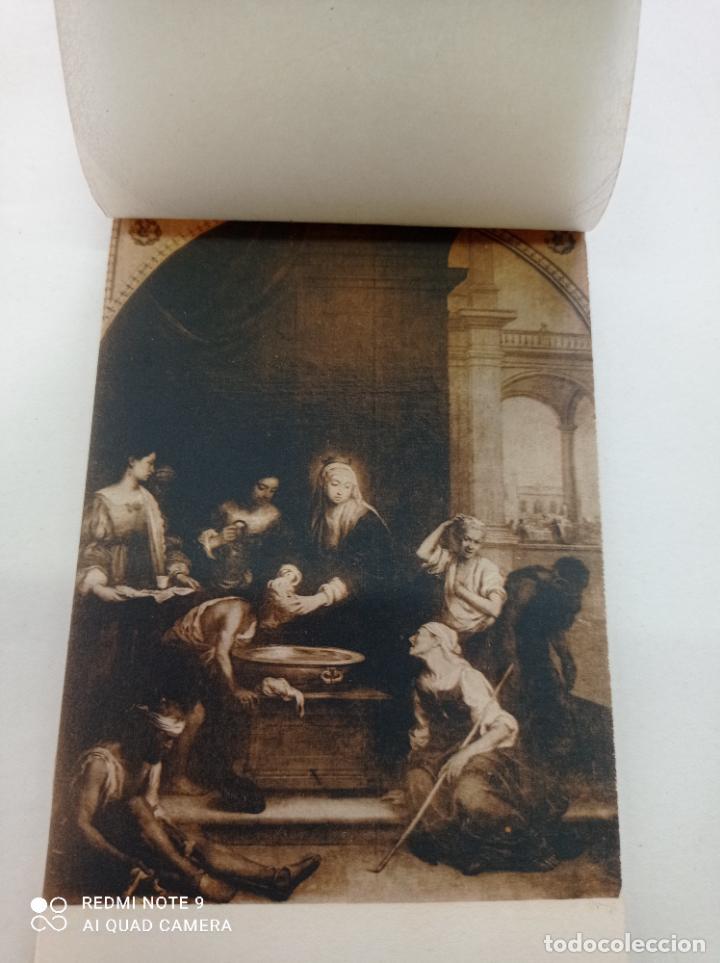 Postales: BLOCK DE 11 POSTALES ANTIGUAS DE MURILLO-MUSEO DEL PRADO. FOTOTIPIA HAUSER Y MENET. 9 x 14 CMS - Foto 3 - 252281200