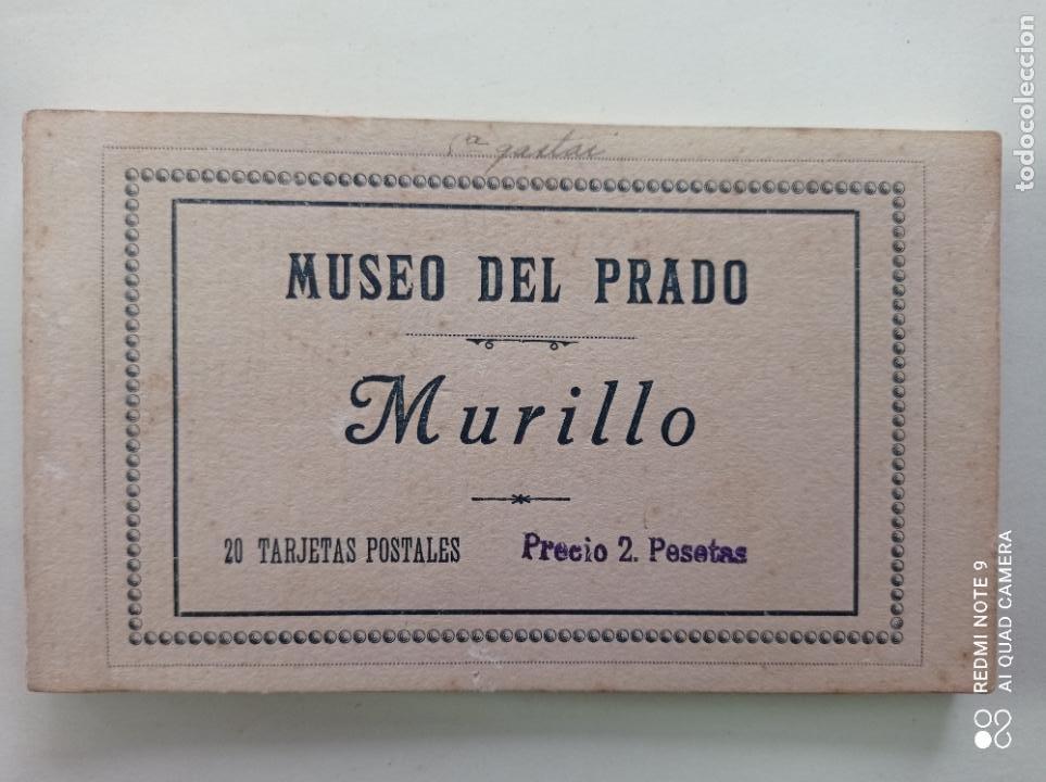 Postales: BLOCK DE 11 POSTALES ANTIGUAS DE MURILLO-MUSEO DEL PRADO. FOTOTIPIA HAUSER Y MENET. 9 x 14 CMS - Foto 5 - 252281200
