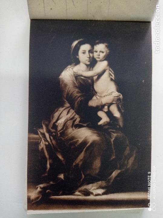 Postales: BLOCK DE 19 POSTALES ANTIGUAS DE MURILLO-MUSEO DEL PRADO. FOTOTIPIA HAUSER Y MENET. 9 x 14 CMS - Foto 2 - 252283410