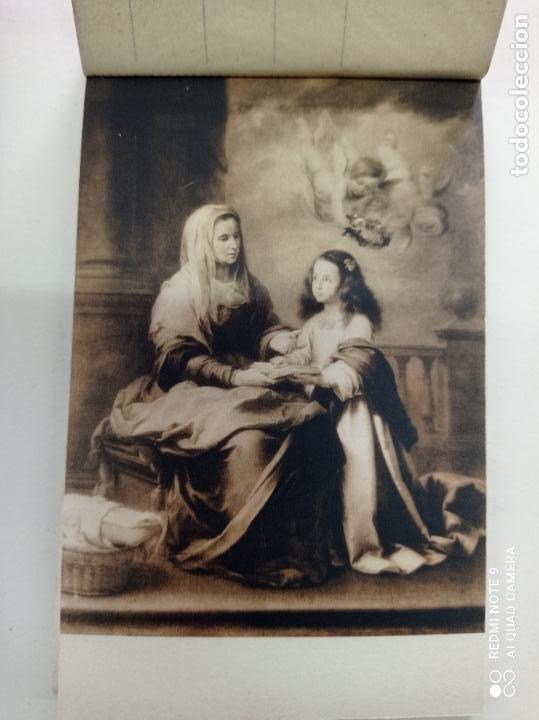 Postales: BLOCK DE 19 POSTALES ANTIGUAS DE MURILLO-MUSEO DEL PRADO. FOTOTIPIA HAUSER Y MENET. 9 x 14 CMS - Foto 3 - 252283410