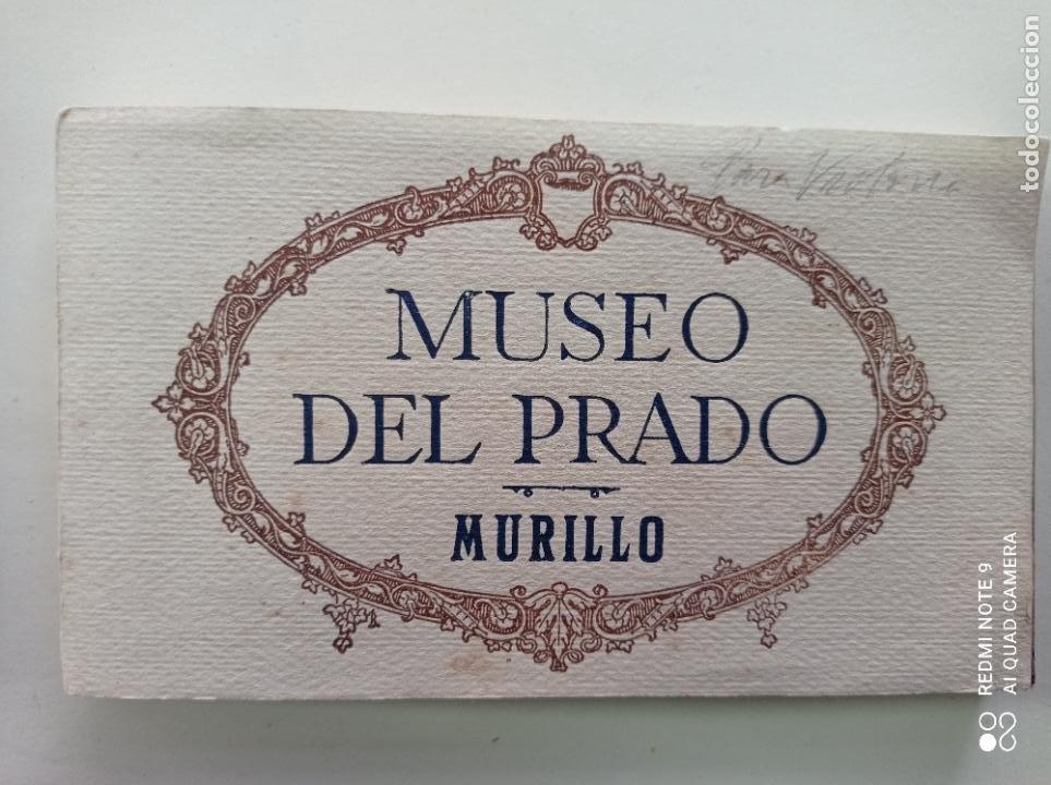 Postales: BLOCK DE 19 POSTALES ANTIGUAS DE MURILLO-MUSEO DEL PRADO. FOTOTIPIA HAUSER Y MENET. 9 x 14 CMS - Foto 4 - 252283410