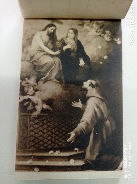 BLOCK DE 19 POSTALES ANTIGUAS DE MURILLO-MUSEO DEL PRADO. FOTOTIPIA HAUSER Y MENET. 9 X 14 CMS (Postales - Varios)