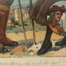 Postales: POSTAL CALZADO DE DISEÑO . ESPAÑA. 1906. Lote 252369480