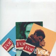 Postales: TRES POSTALES PUBLICITARIAS TABACO FORTUNA. Lote 254448435