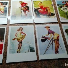 Postales: 8 POSTALES CHICAS PIN-UP. Lote 255009440