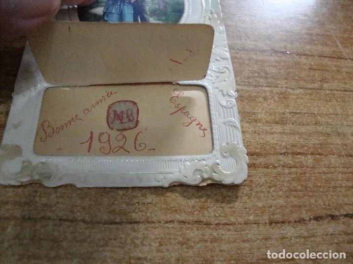 Postales: ANTIGUA POSTAL PAREJA MUCHAS FELICIDADES 1926 ESCRITA - Foto 2 - 256028255