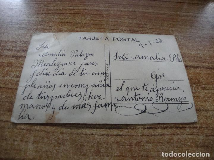 Postales: ANTIGUA POSTAL PAREJA BORDADA MUCHAS FELICIDADES 1922 ESCRITA - Foto 2 - 256028430