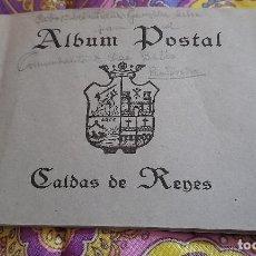 Postales: ANTIGUO ALBUM POSTALES CALDAS DE REYES PONTEVEDRA TIP DEL FARO DE VIGO ALBUM POSTAL CALDAS DE REDES. Lote 257272830