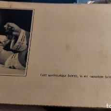 Postales: INVITACION A UN ALMUERZO-HOMENAJE POR SU ORDENANSA SACERDOTAL SEBASTIAN LLANES BLANCO 1962 CADIZ. Lote 258214540