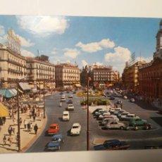 Cartoline: POSTAL MADRID PUERTA DEL SOL ARQUITECTURA ESPAÑA AÑOS 70 EDIFICIOS. Lote 261282195