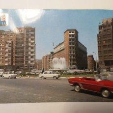 Cartoline: POSTAL BILBAO PLAZA DE ZABALBURU ARQUITECTURA ESPAÑA AÑOS 70 EDIFICIOS. Lote 261288300