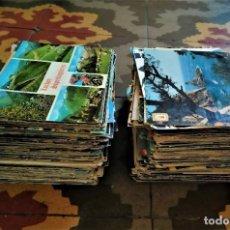 Postales: GRAN LOTE DE 350 POSTALES AÑOS 50 60 Y 70 ESPAÑA, EUROPA Y EXTRANJERO, SELLADAS Y CIRCULADAS. Lote 262697060