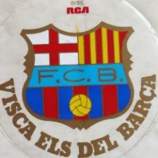 Postales: FC.BARCELONA MIDE 12 CM X 12 CM. Lote 263158750