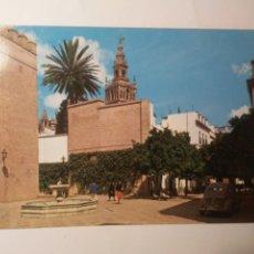Postales: POSTAL SEVILLA PLAZA DE LA ALIANZA ARQUITECTURA ESPAÑA AÑOS 70 EDIFICIOS COCHES. Lote 263177480
