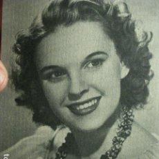 Postales: PRECIOSA POSTAL CINE - JUDY GARLAND - AÑOS 1940. Lote 265393319