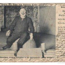 Postales: GUIDO THIOELFCHER (ACTOR) - CIRCULADA EN 1902 - SELLO DE ALEMANIA. Lote 266169483