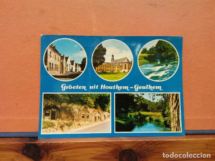 GROETEN UIT HOUTHEM GEULHEM. BONITA POSTAL. CIRCULADA (Postales - Varios)