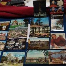 Postales: LOTE TARJETAS 17 POSTALES AÑOS 60 ( POSTALES EXTRANJERAS ) VER FOTOS. Lote 268755029