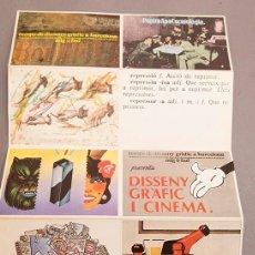 Postales: TEMPS DE DISSENY GRÀFIC A BARCELONA - ADG - FAD - 1979 - ADGFAD. Lote 268763479
