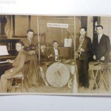 Cartoline: GRUPO MUSICAL. JAZZ. THE BANANAS SLIDE. OLOT. GIRONA. Lote 268867789