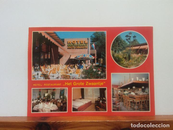 HOTEL RESTAURANT HET GROTE ZWAANTJE. BONITA POSTAL. CIRCULADA (Postales - Varios)