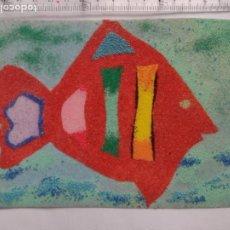 Postales: PEZ - FISH - HECHO A MANO. Lote 269172753